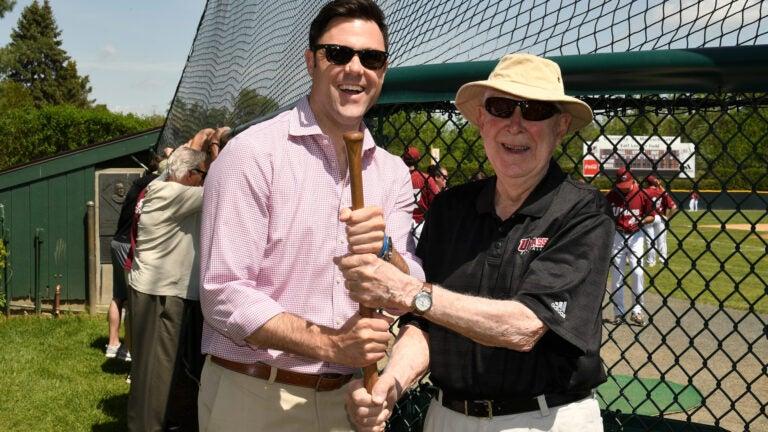 Dick Bergquist UMass baseball