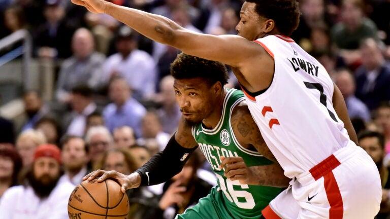 Marcus Smart Celtics Kyle Lowry Raptors