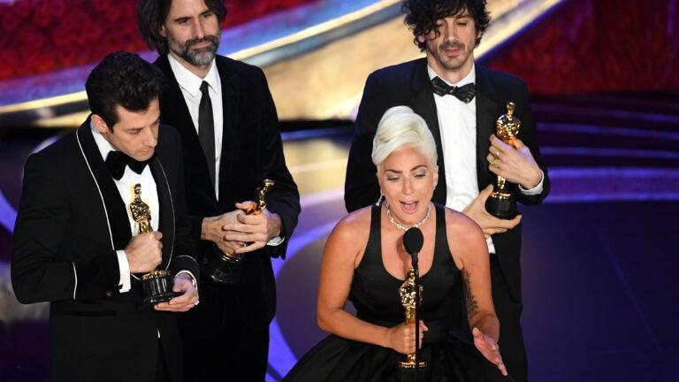 Mark Ronson, Anthony Rossomando, Andrew Wyatt, Lady Gaga