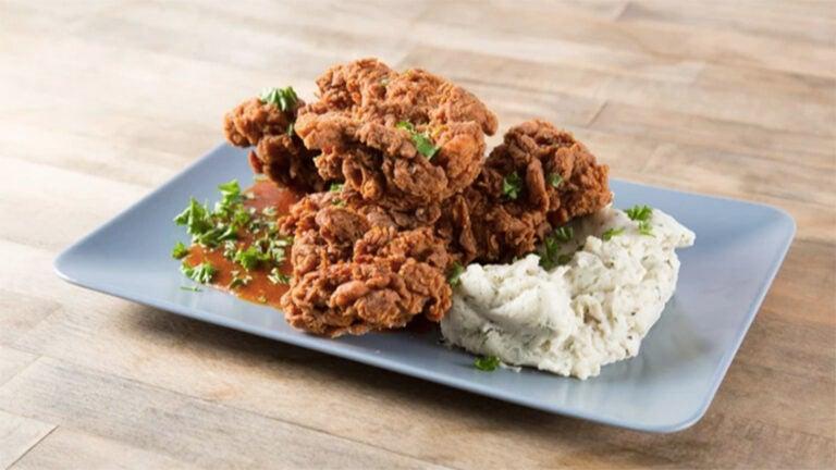 Yemenite fried chicken