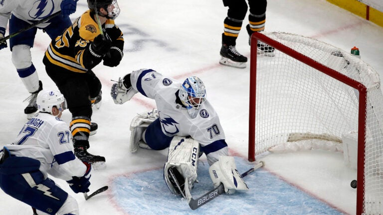 Noel Acciari Boston Bruins Lightning