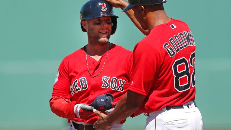 Dustin Pedroia Spring Training Red Sox