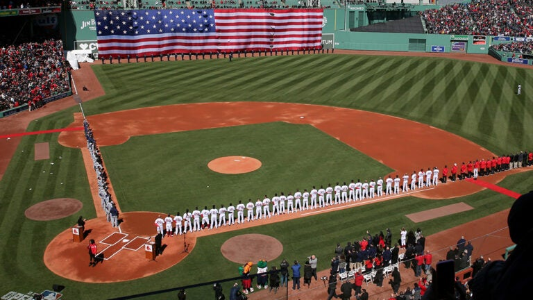 Fenway Park Red Sox 2018 Opening Day