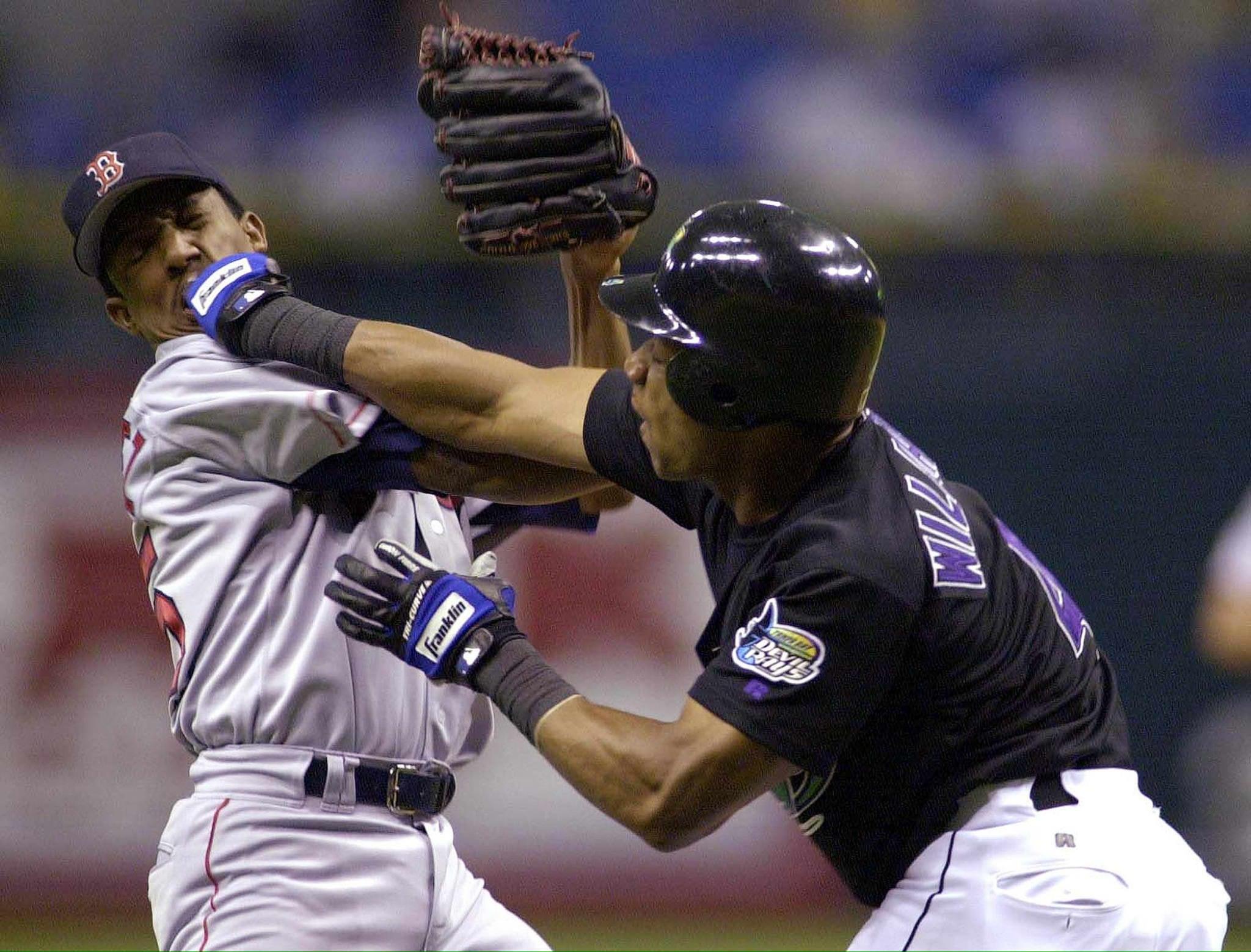 Pedro Martinez Gerald Williams MLB Brawl