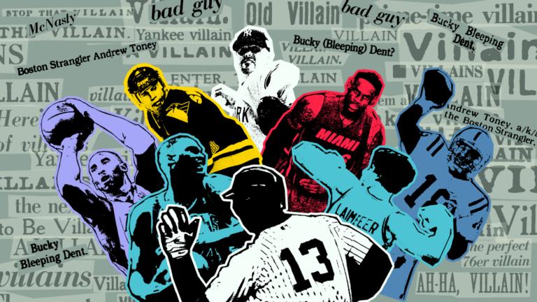 Boston sports villains