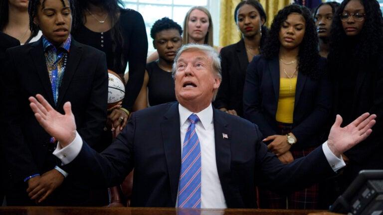 Baylor Women's Basketball Donald Trump