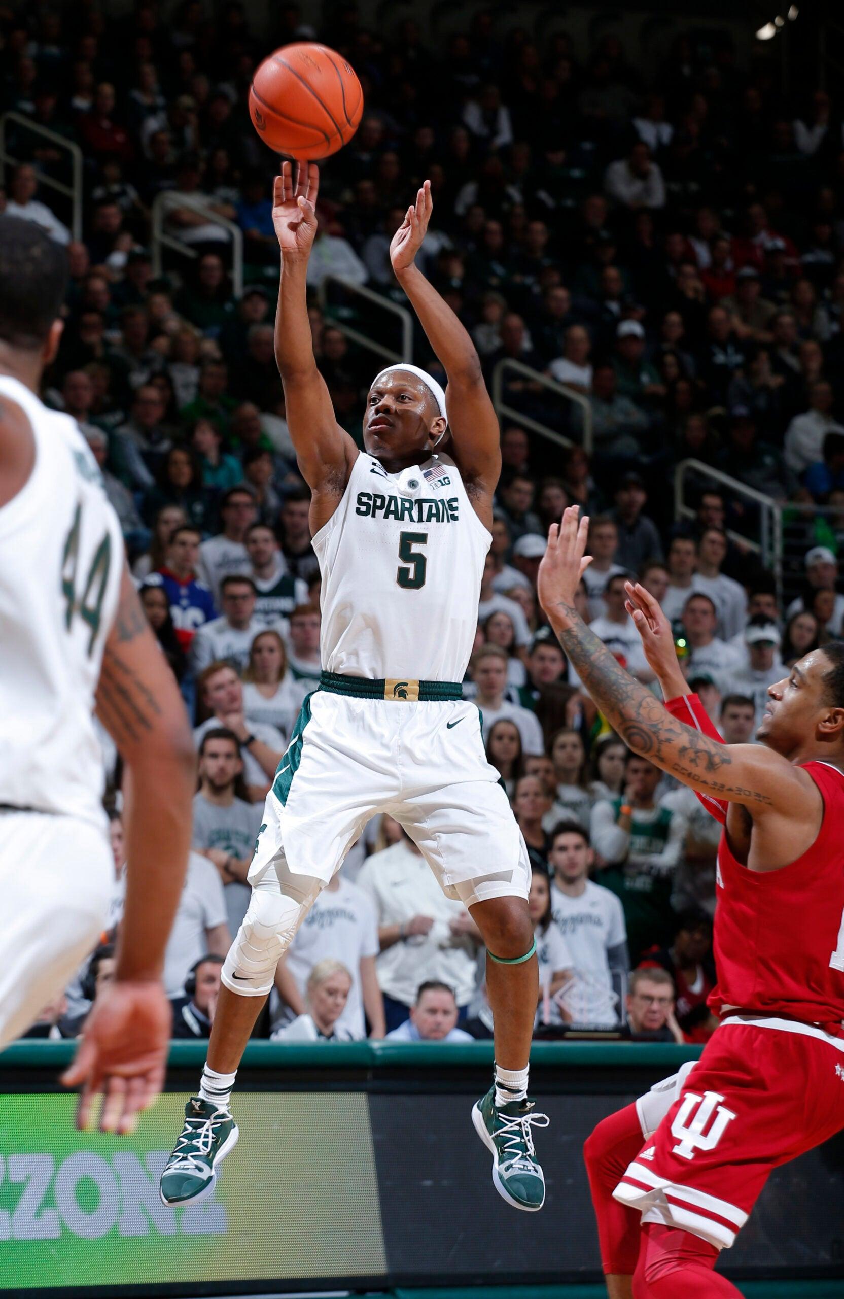 Cassius Winston Michigan State Basketball