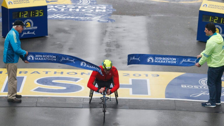 Daniel Romanchuk Boston Marathon 2019