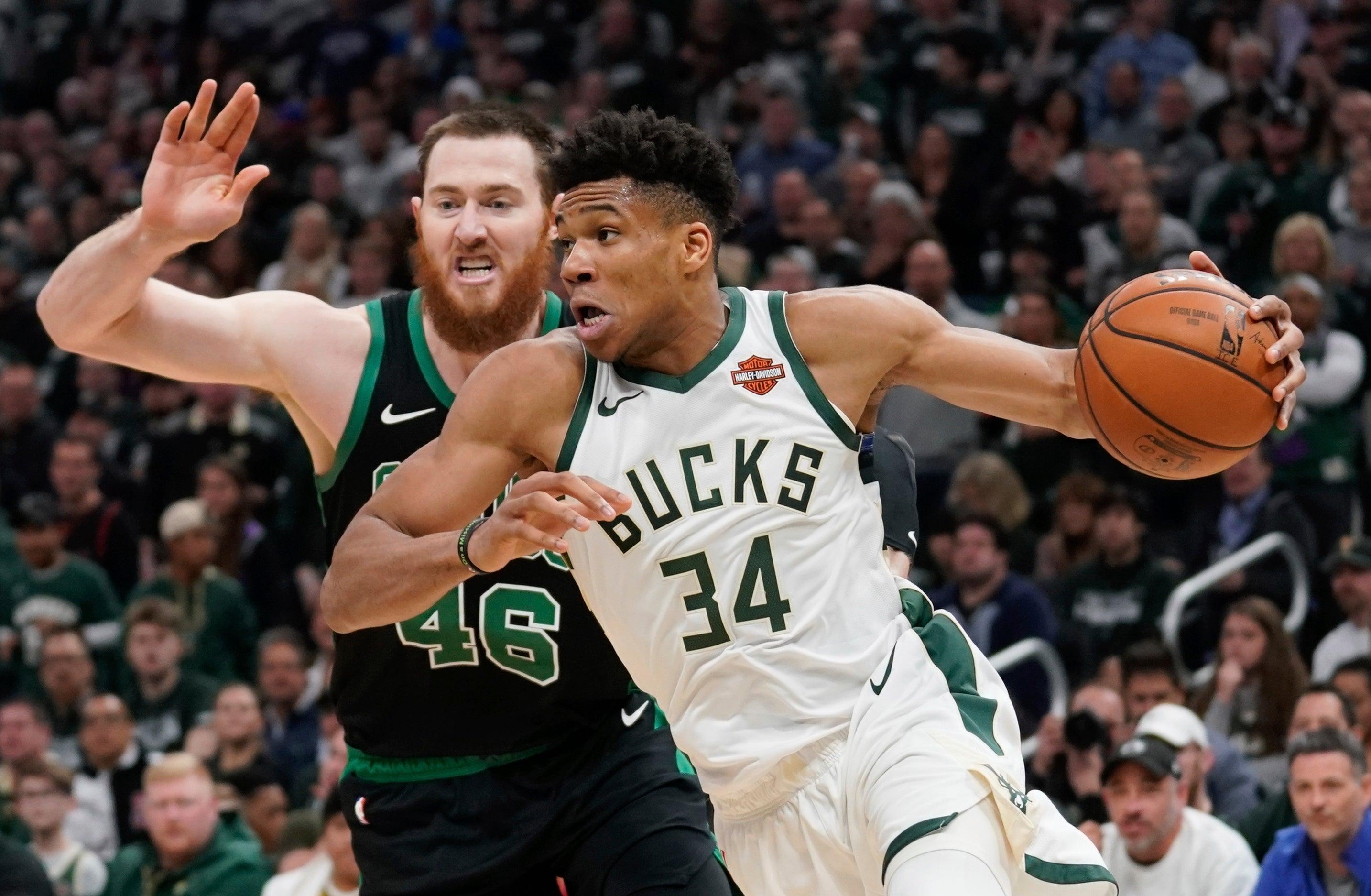 Giannis Celtics Bucks