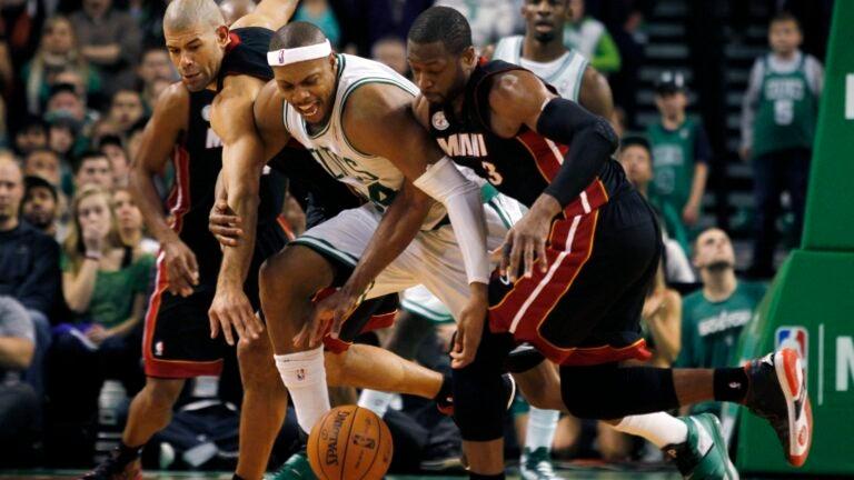 Dwayne Wade Paul Pierce NBA