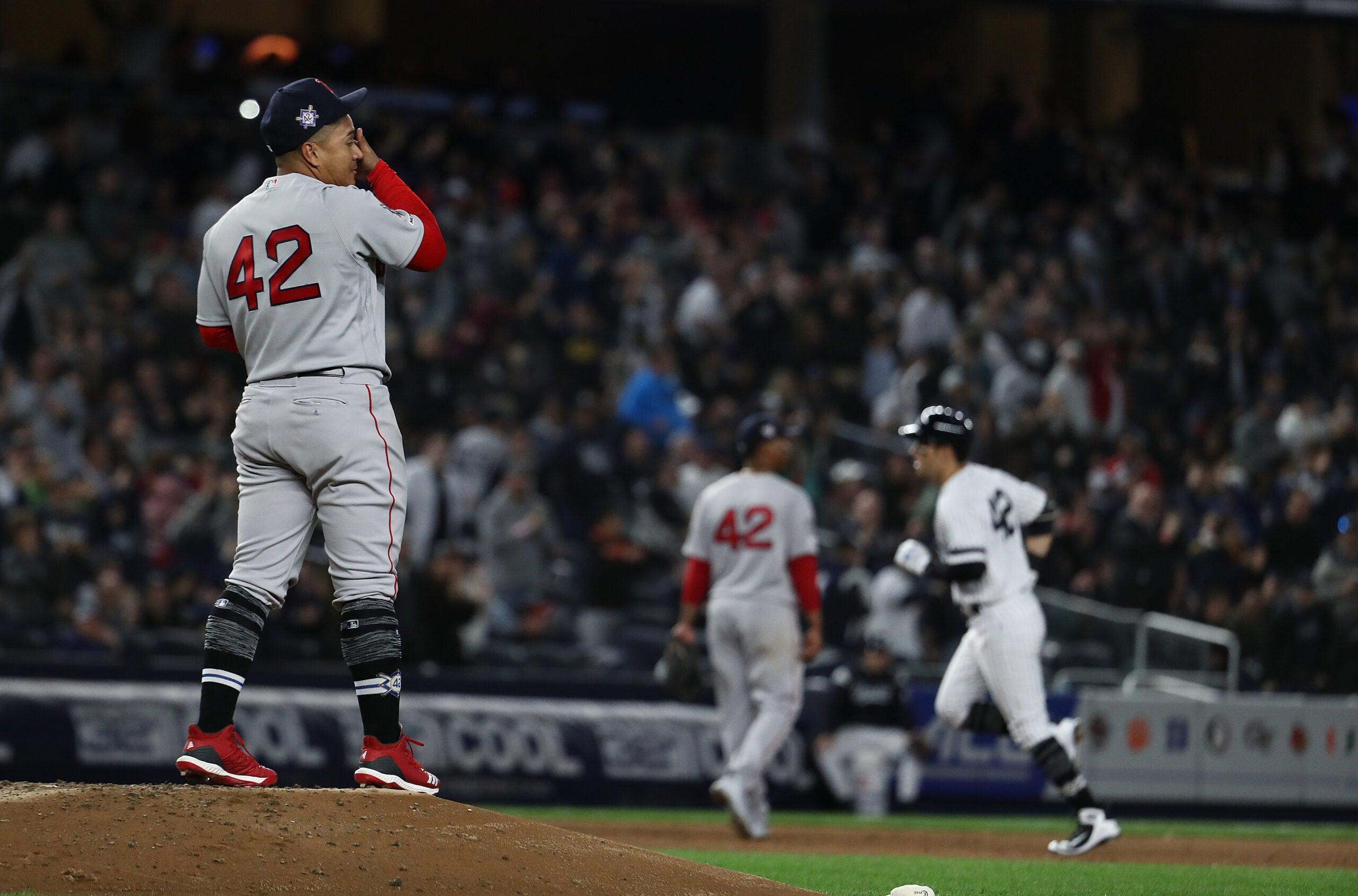 Red Sox Yankees Erasmo Ramirez