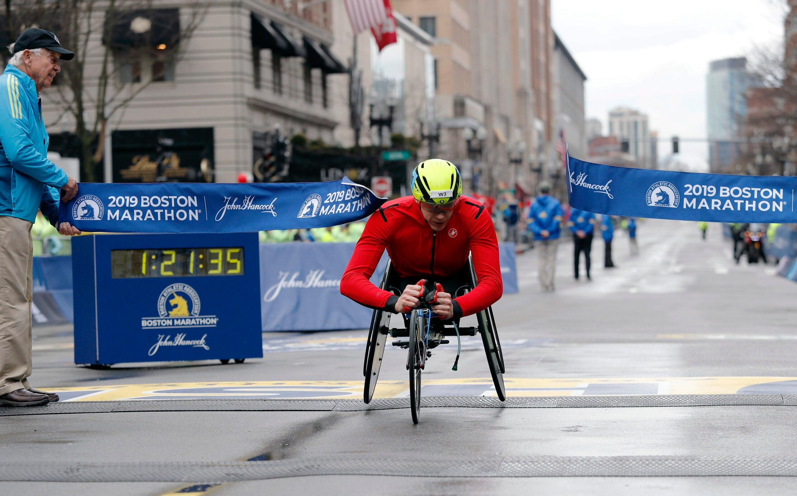 Daniel Romanchuk 2019 Boston Marathon Handcycle