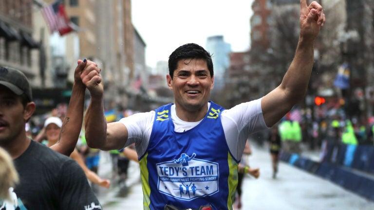 Tedy Bruschi 2019 Boston Marathon