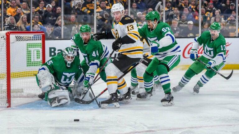 Bruins Hurricanes NHL Playoffs