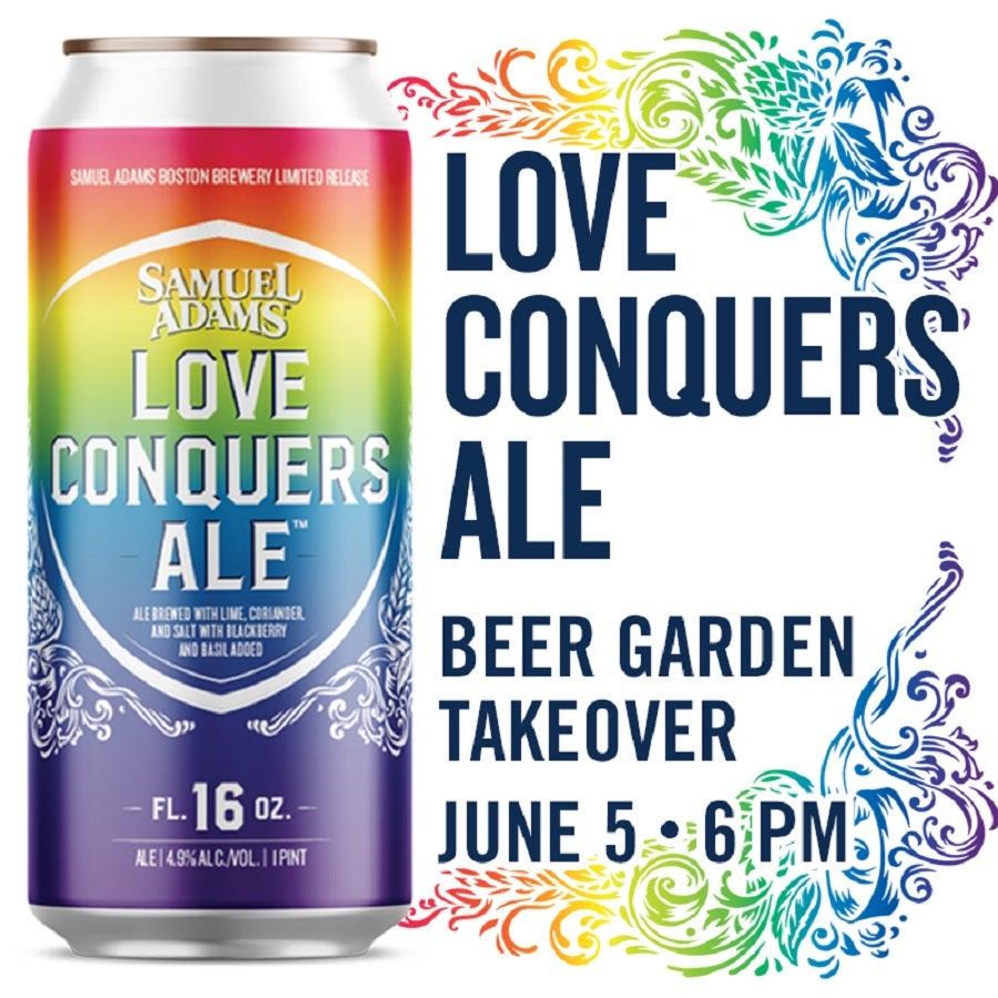 Sam Adams Pride beer 2019