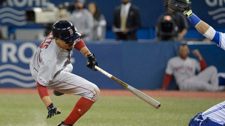 Mookie Betts Red Sox Blue Jays MLB