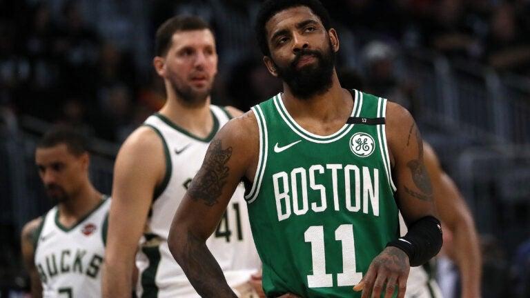 Kyrie Irving Celtics NBA