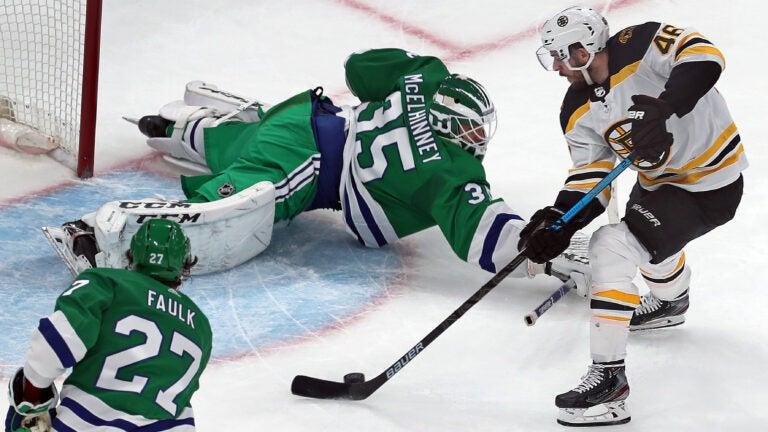Bruins Hurricanes NHL Hockey
