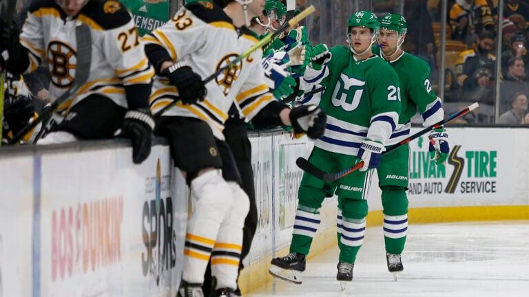Hurricanes Bruins Zdeno Chara NHL