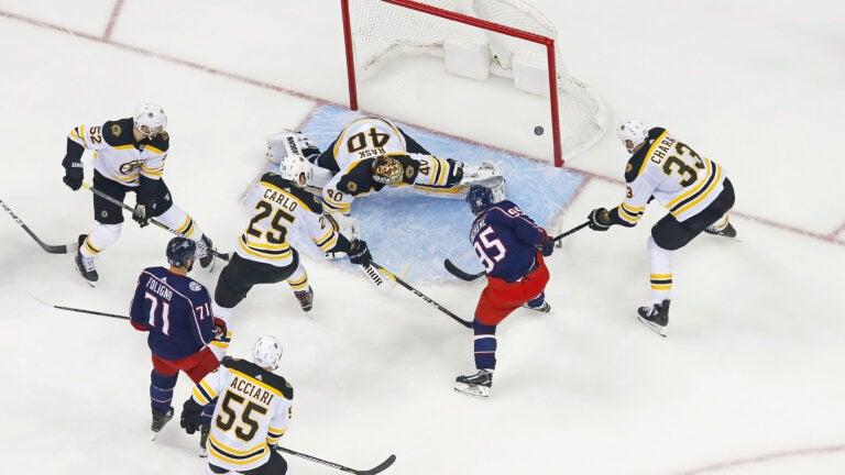 Bruins Blue Jackets NHL Playoffs