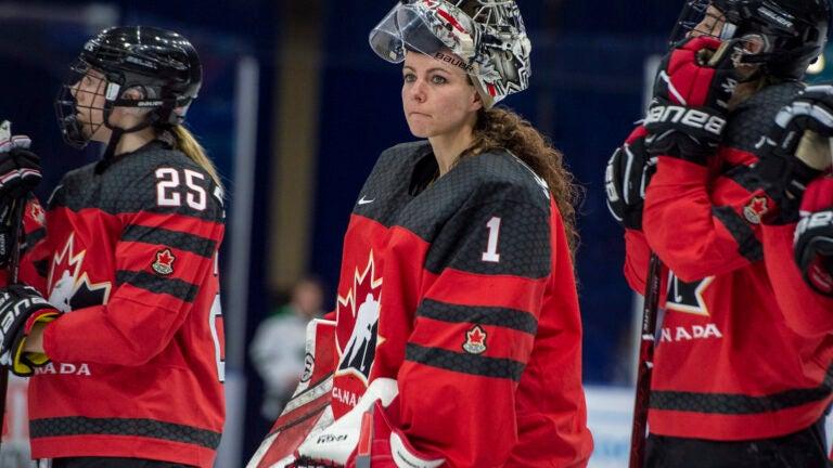 Shannon Szabados Canada Women's Hockey