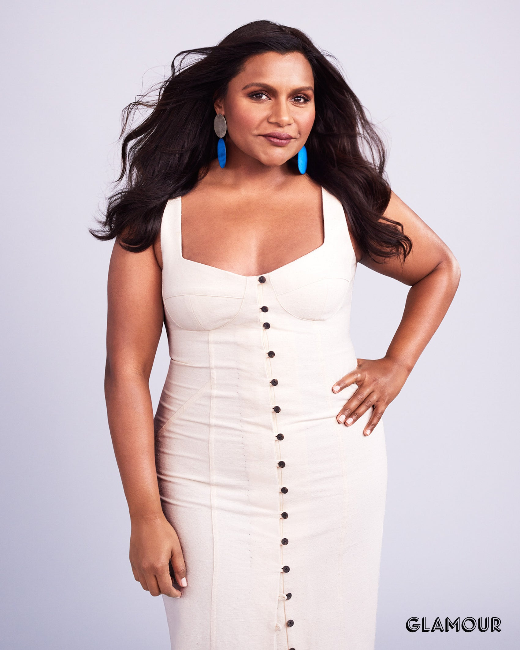 Mindy Kaling for Glamour