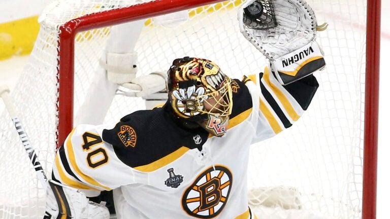 Tuukka Rask Boston Bruins NHL