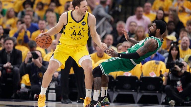 Bojan Bogdanovic Kyrie Irving NBA