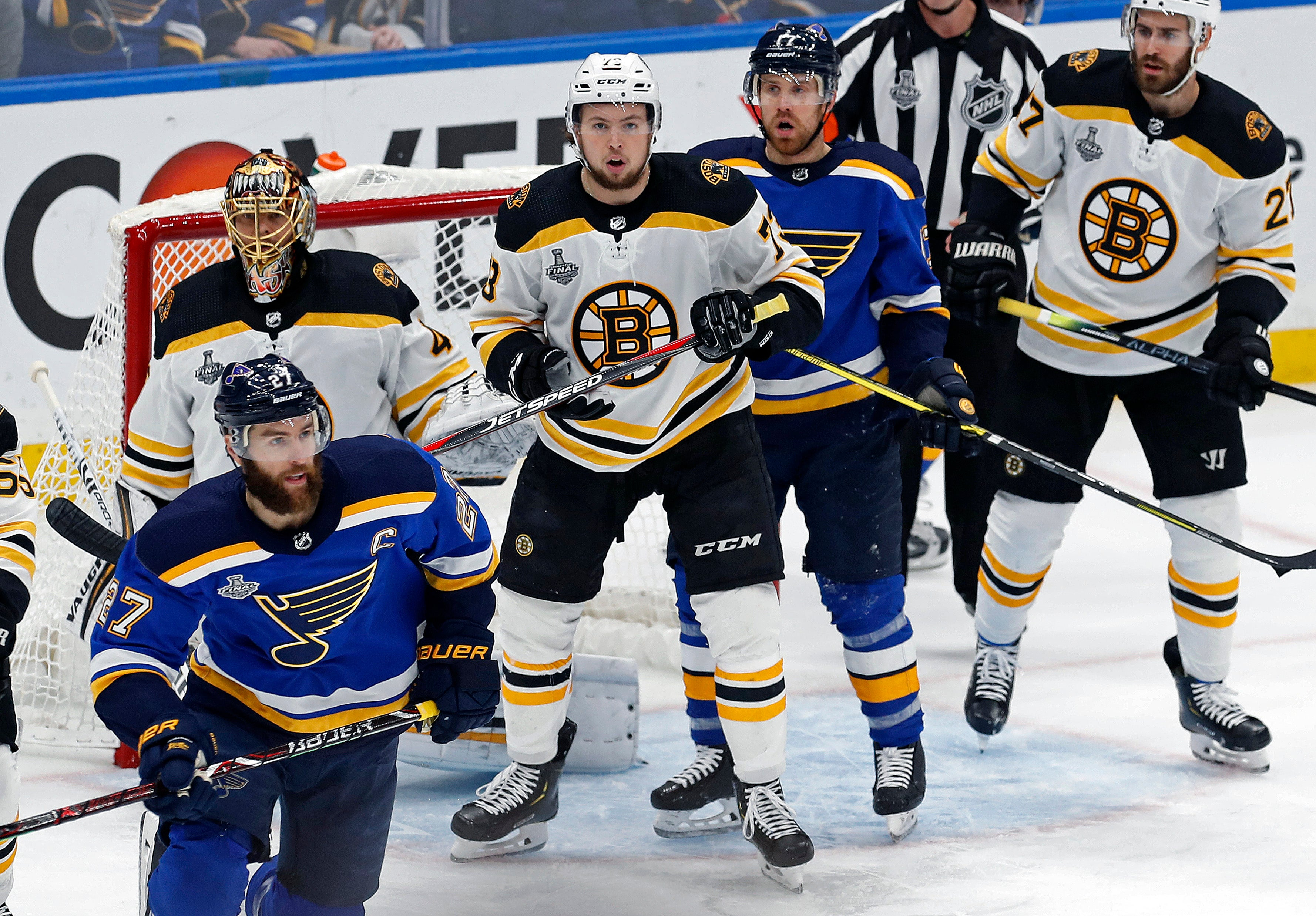 Bruins Blues Stanley Cup Final NHL
