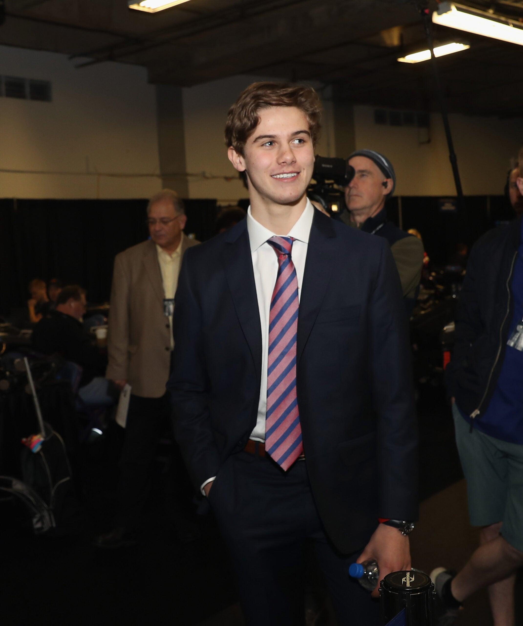 Jack Hughes NHL Entry Draft 2019