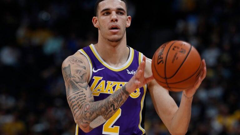 Lonzo Ball Los Angeles Lakers NBA