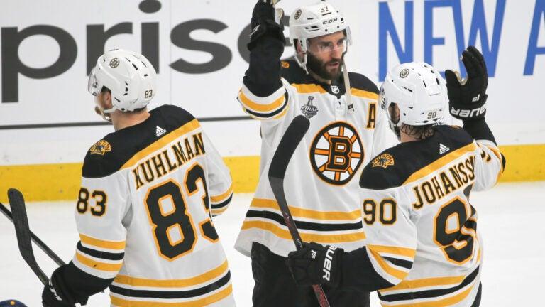 Patrice Bergeron Boston Bruins NHL