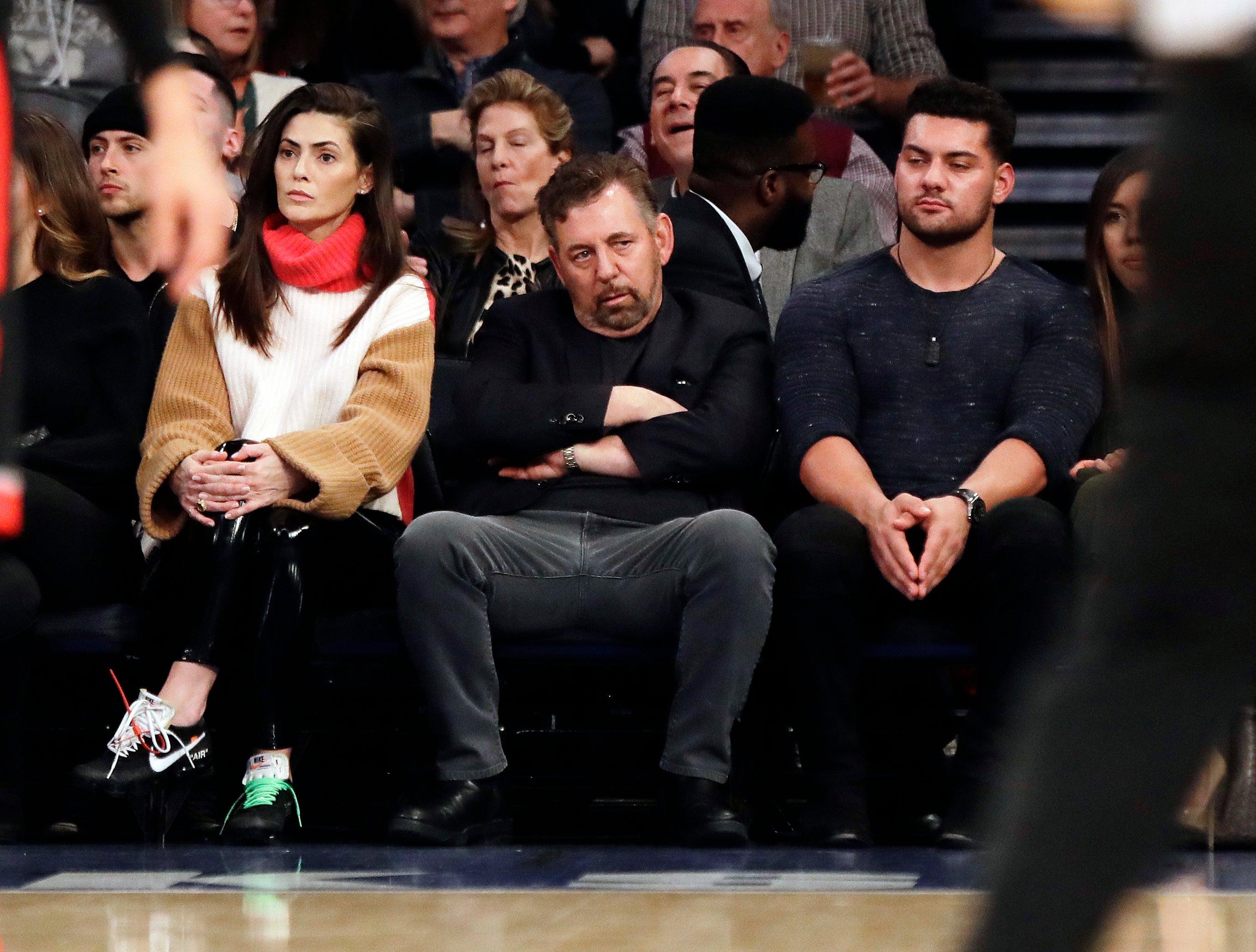 James Dolan Knicks free agency