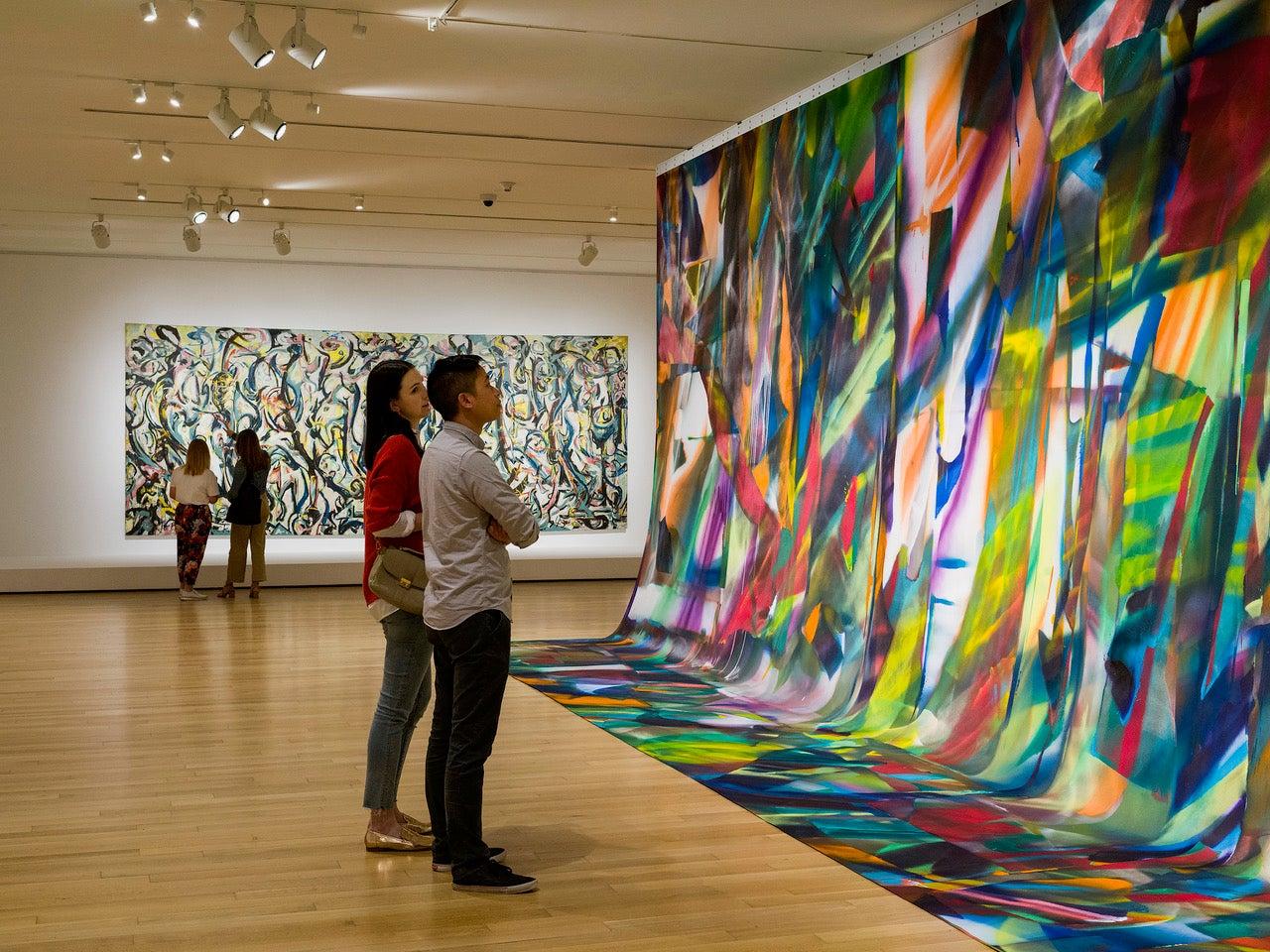 Mural: Jackson Pollock | Katharina Grosse