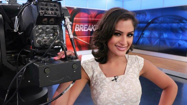 NBC10 Boston anchor Natasha Verma.