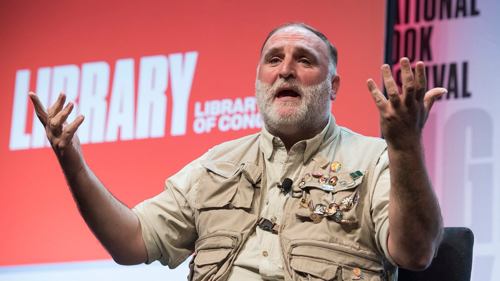 Chef and restaurant owner Jose Andres