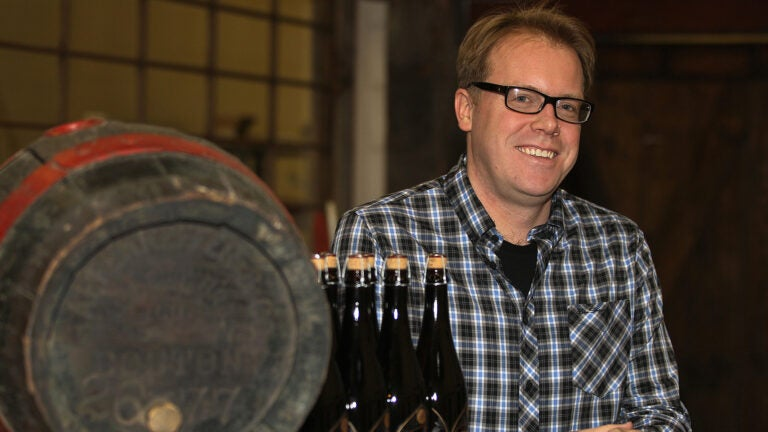 Bryan Greenhagen (cq) is brewer and founder of Mystic Brewery