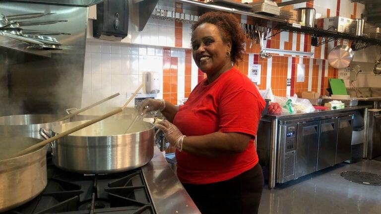 Meqdes Mesfin at Nibble Kitchen