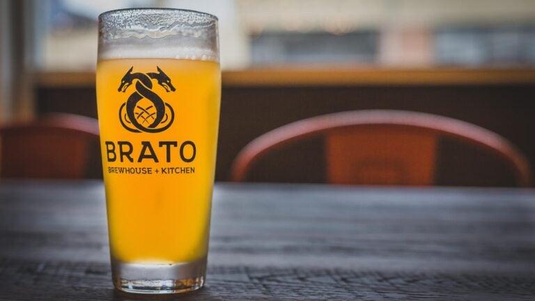 Blue Bin at Brato Brewhouse