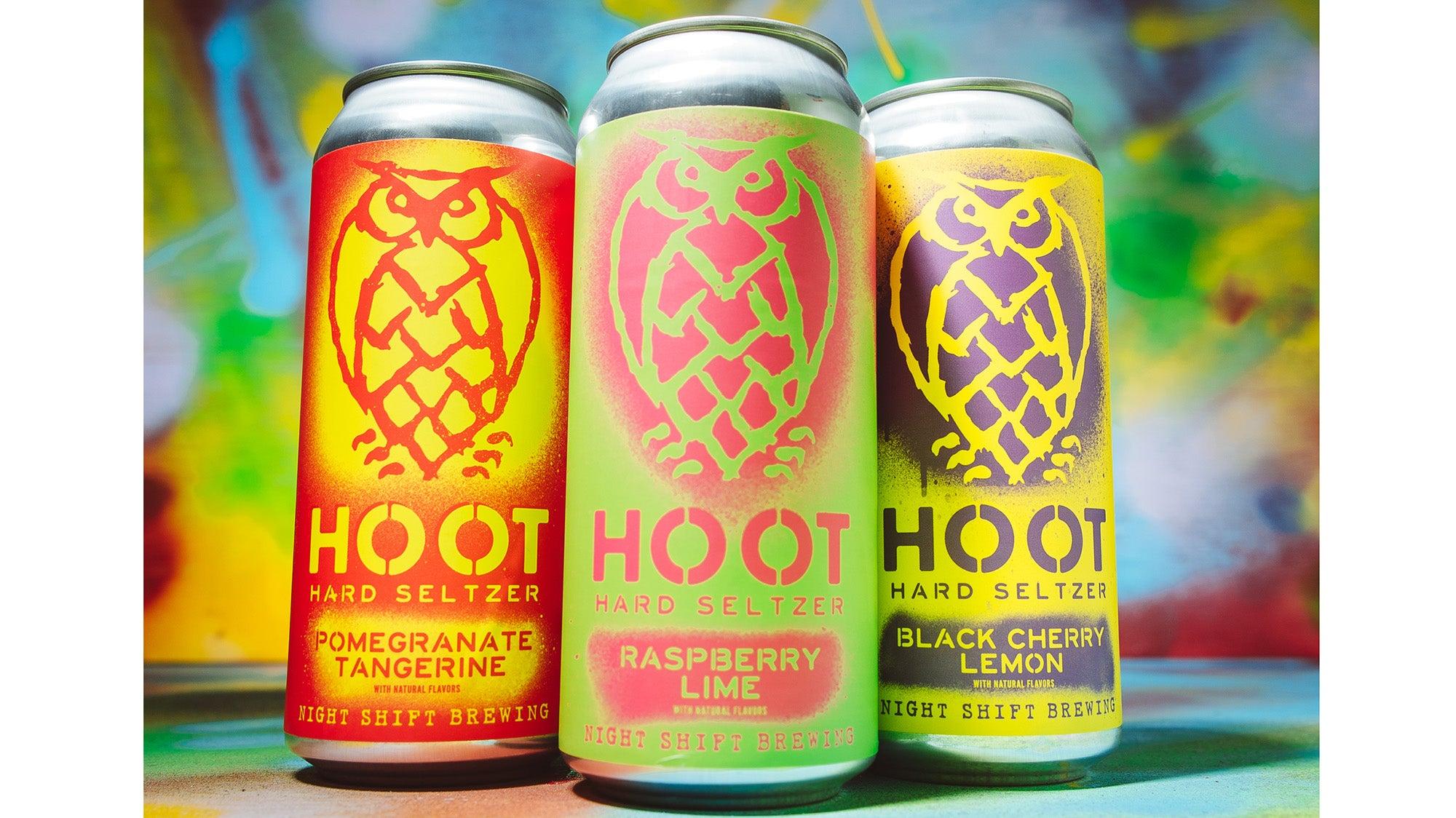 Hoot Hard Seltzer from Night Shift Brewing