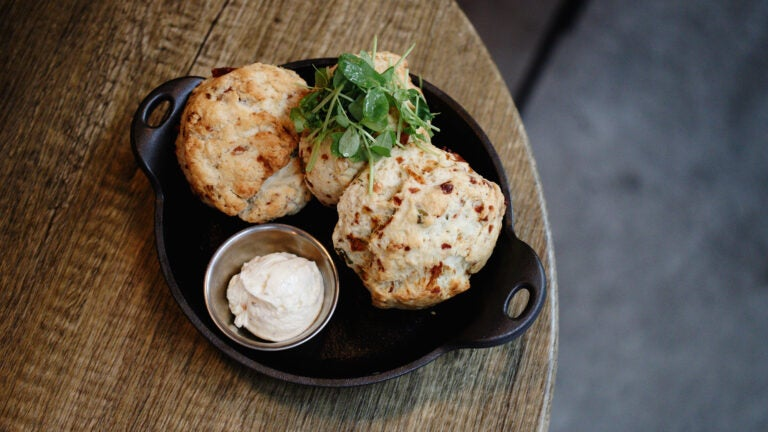 Biscuits and butter at Stillwater