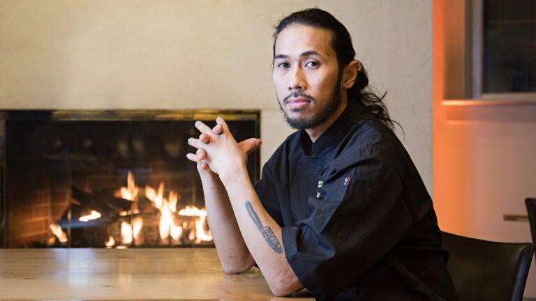 Executive chef Jeffrey Salazar at Parsnip