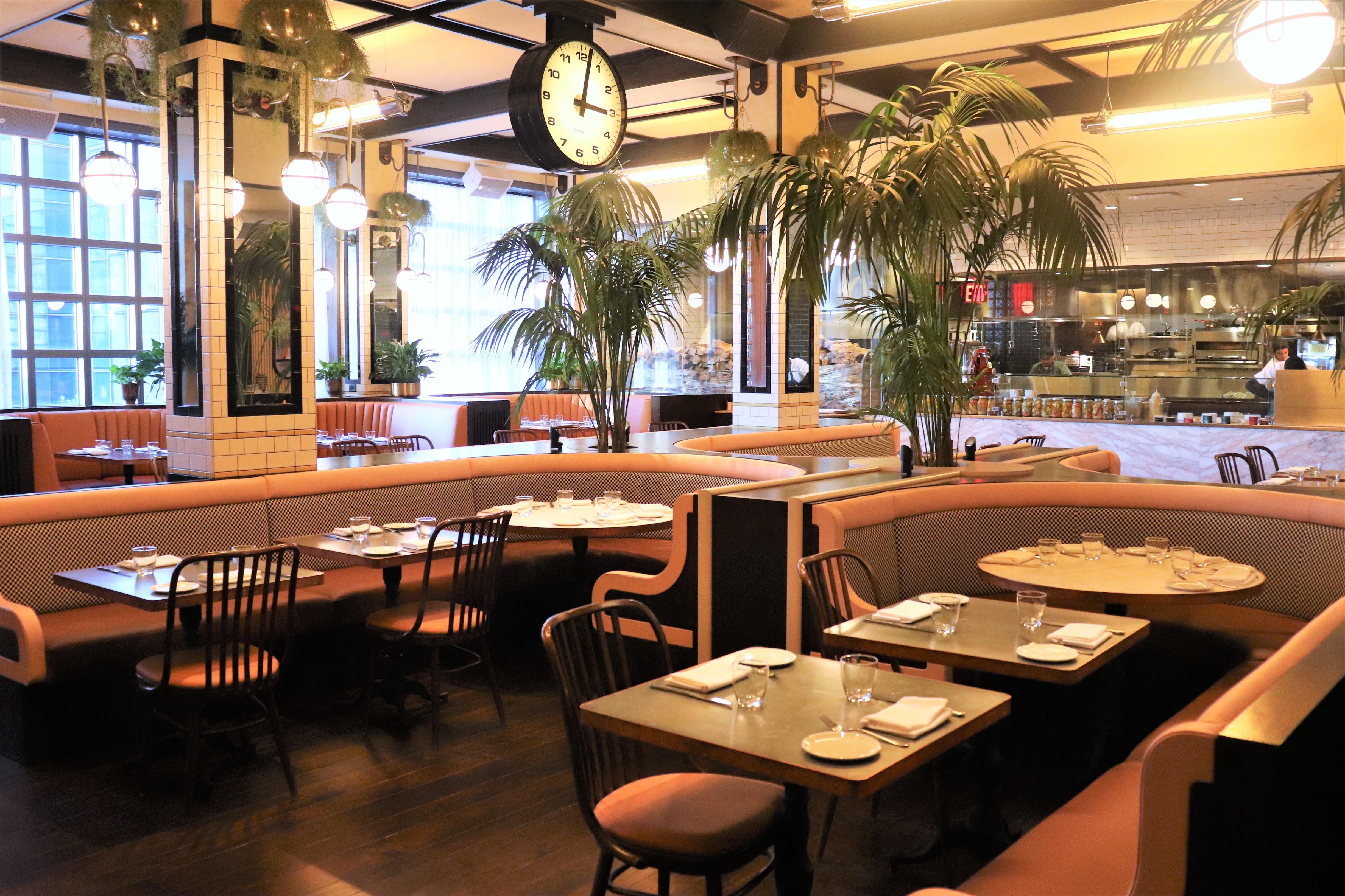Rochambeau dining area