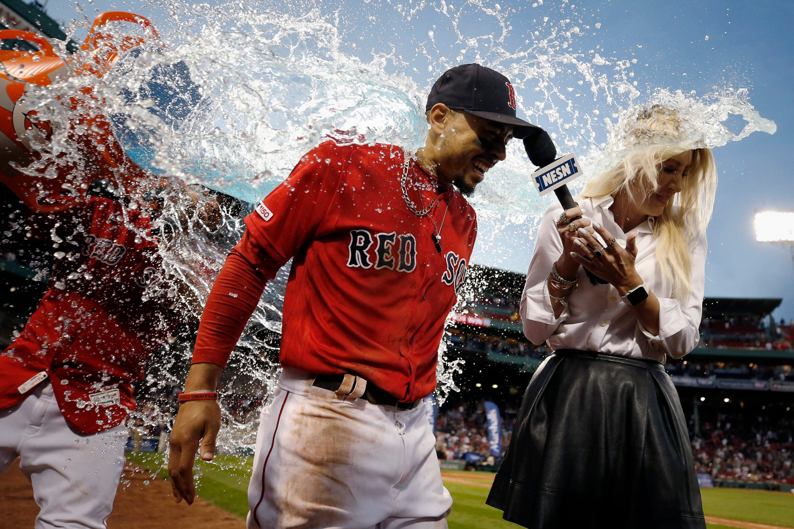 Mookie Betts, Red Sox