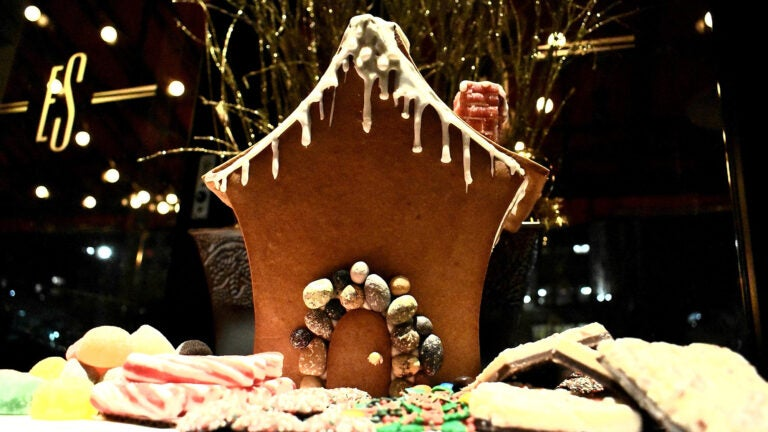 Gingerbread house at Eastern Standard