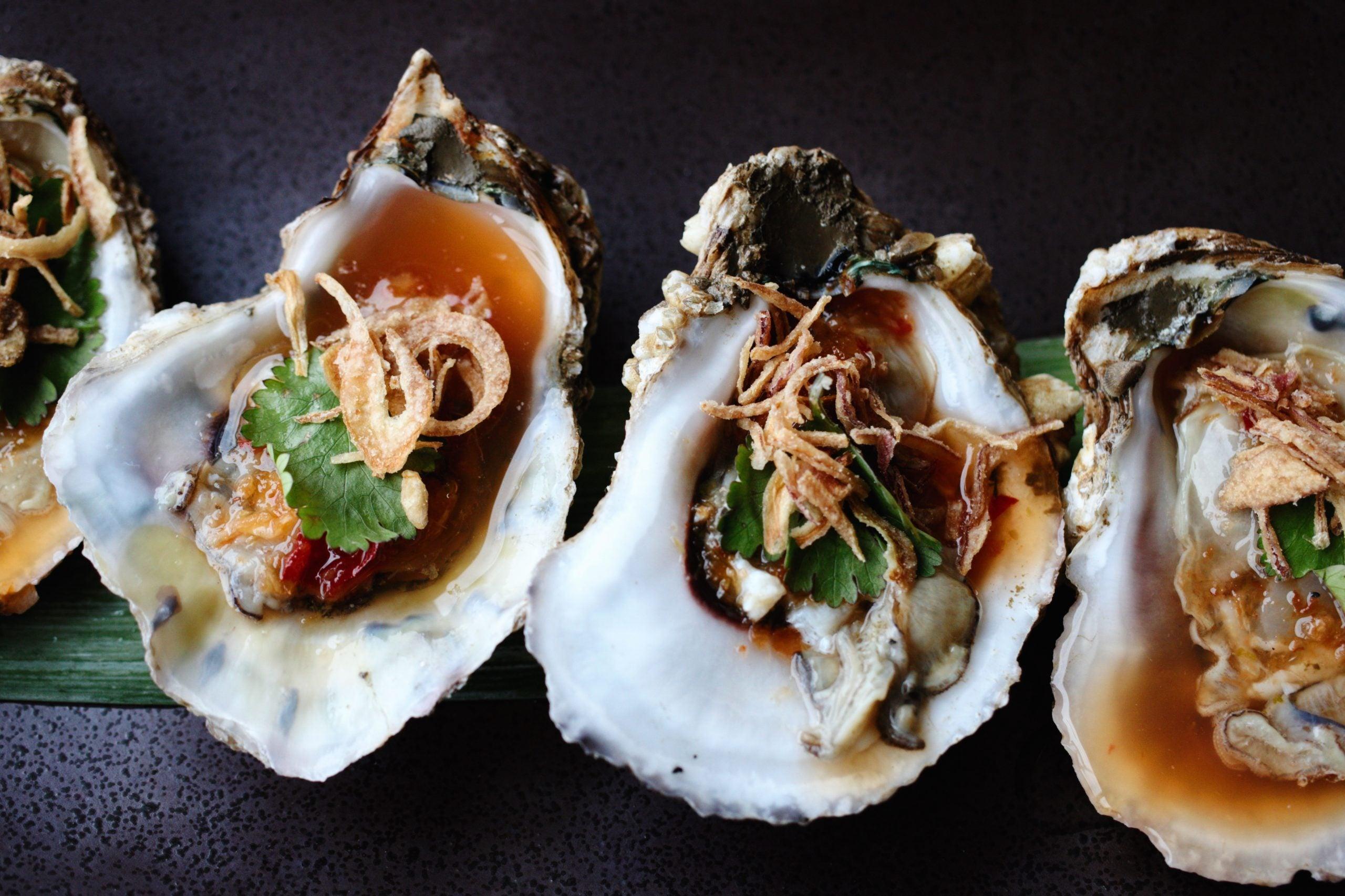 East Coast oyster at Chalawan