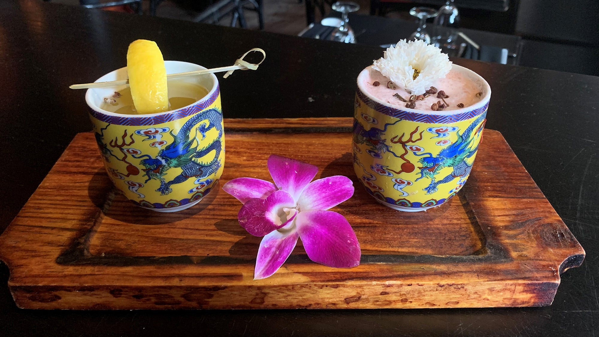 ShùNian drinks for two at Red Lantern