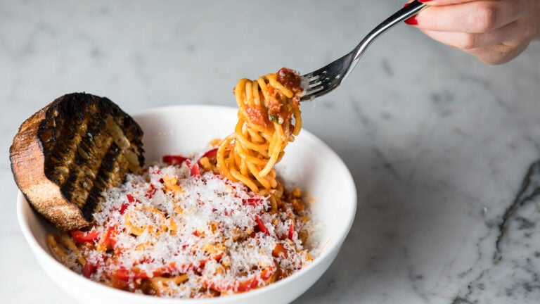 Pammy's spaghetti