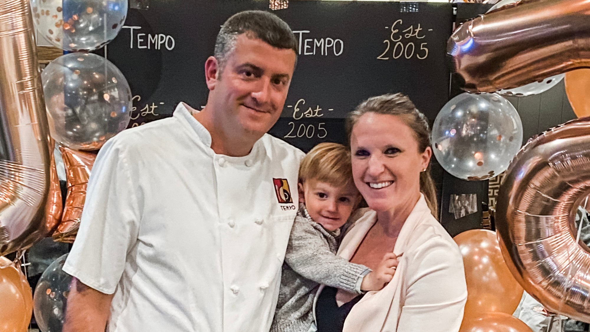 Nathan Sigel, Erin Barnicle, and their son, Spencer