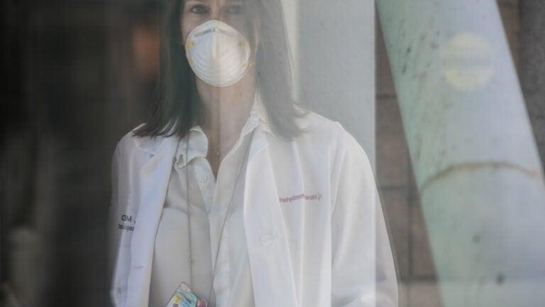 Dr. Kasi McCune, a transplant surgeon at Columbia New York-Presbyterian Medical Center.